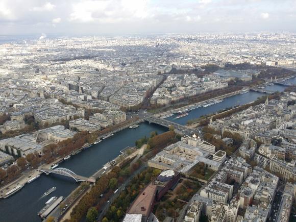 باريس، إيفل، جسور